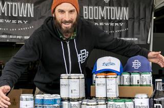 Boomtown Brewery craft beer pickup