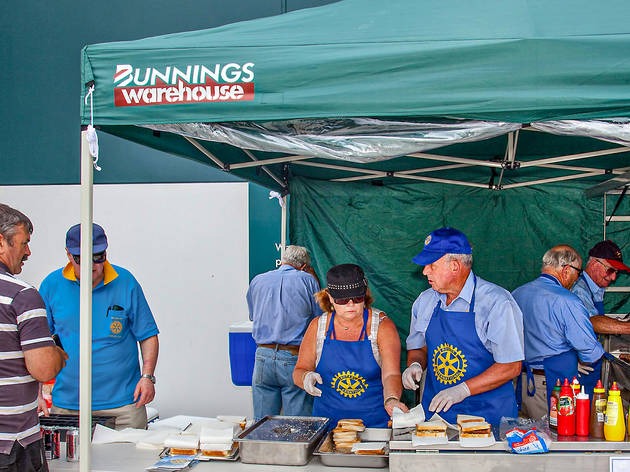 Bunnings' sausage sizzles are back in NSW from next weekend