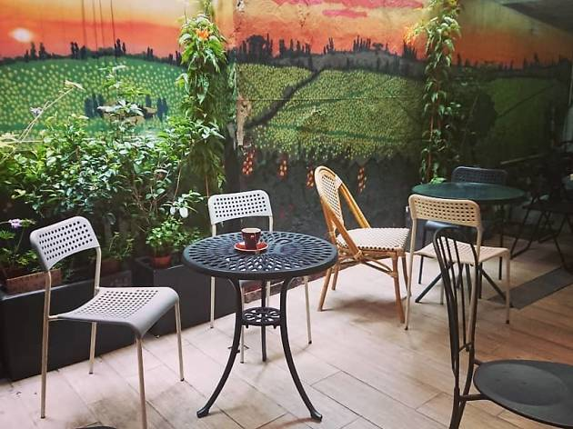 Cafe corridor terrace 2020-3-18SE