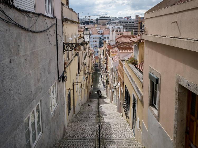 Andar perdido por Lisboa