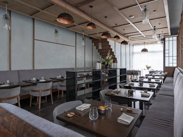 jeong, restaurant, interior, empty, restaurant interior, dining room, Hahm Visuals
