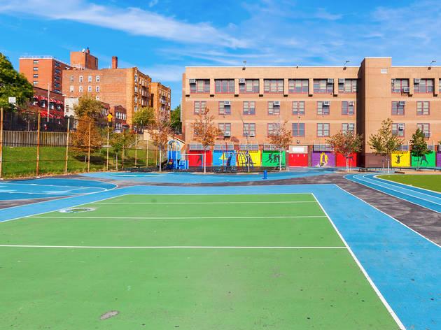 Empty Pubilic School NYC