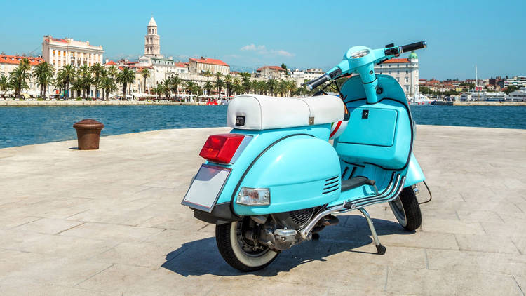 Rent a scooter and explore on two wheels