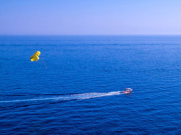 Parasail over the Adriatic