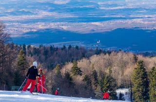 Ski in continental Croatia