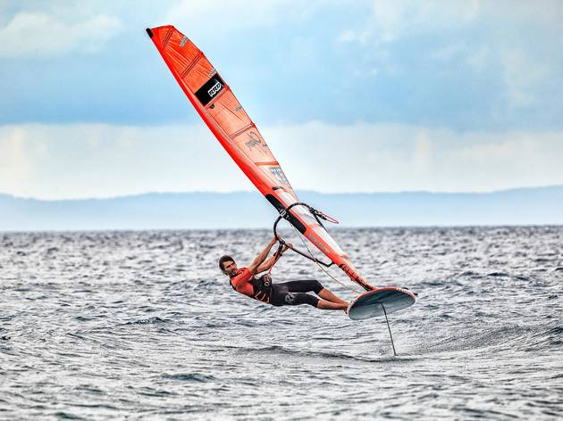 Try extra-windy windsurfing