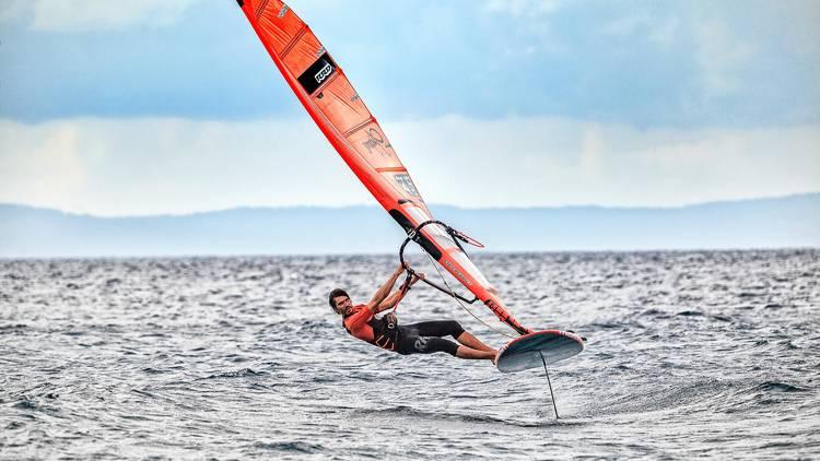 Try extra-windy windsurfing