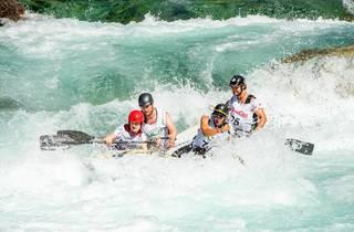 Try white-water kayaking