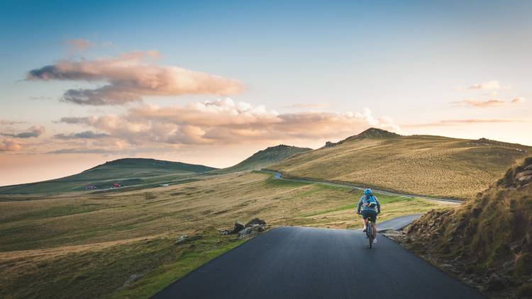 Relax with an evening bike ride