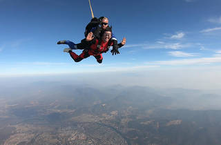 Take the plunge and skydive