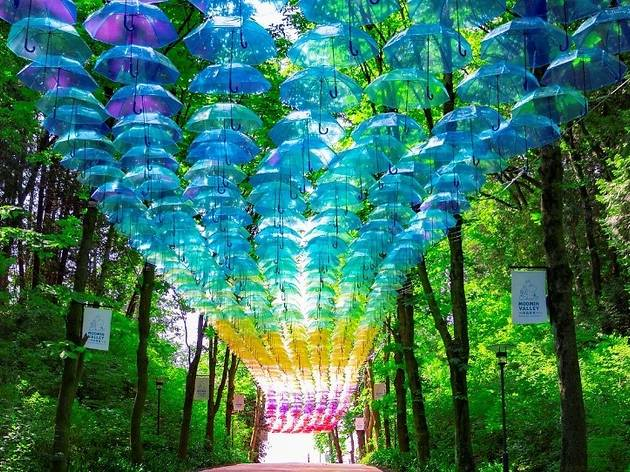 Metsä Umbrella Sky Design Project