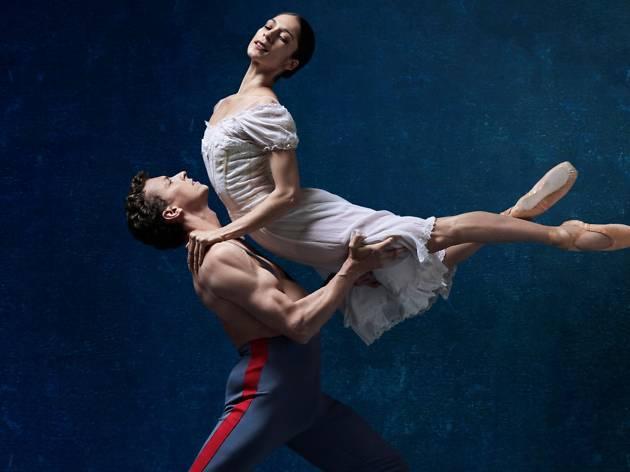 Dancers perform Anna Karenina