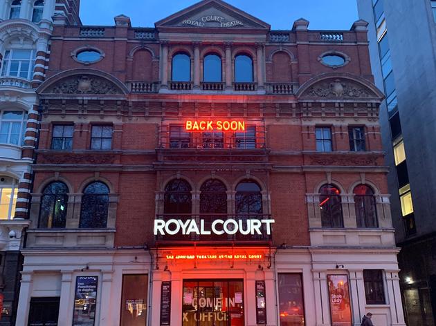 Royal Court closed for coronavirus