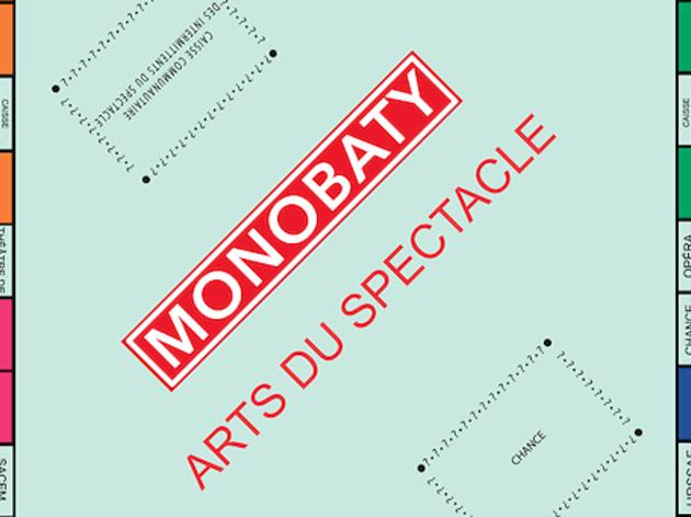 Monopoly Théâtrothèque Gaston Baty