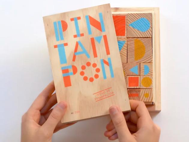 Pack de segells de Pin Tam Pon