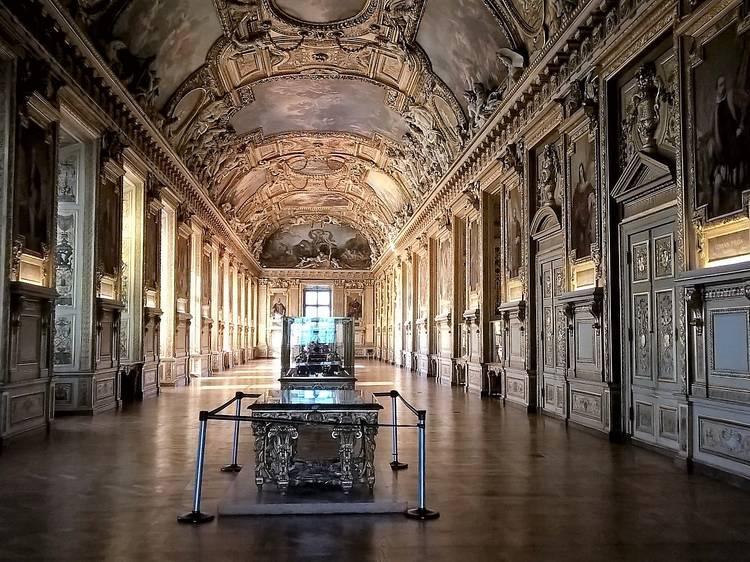 Les galeries du Louvre
