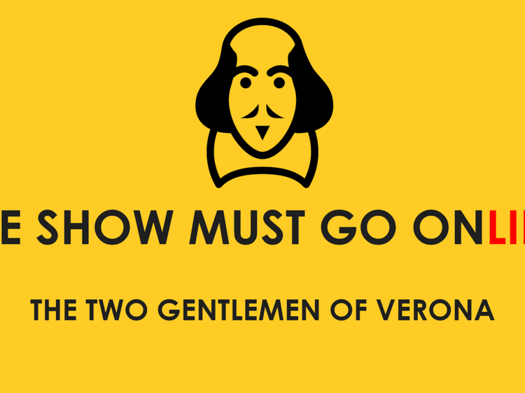 The Show Must Go Online Shakespeare readings, Wednesdays at 7pm