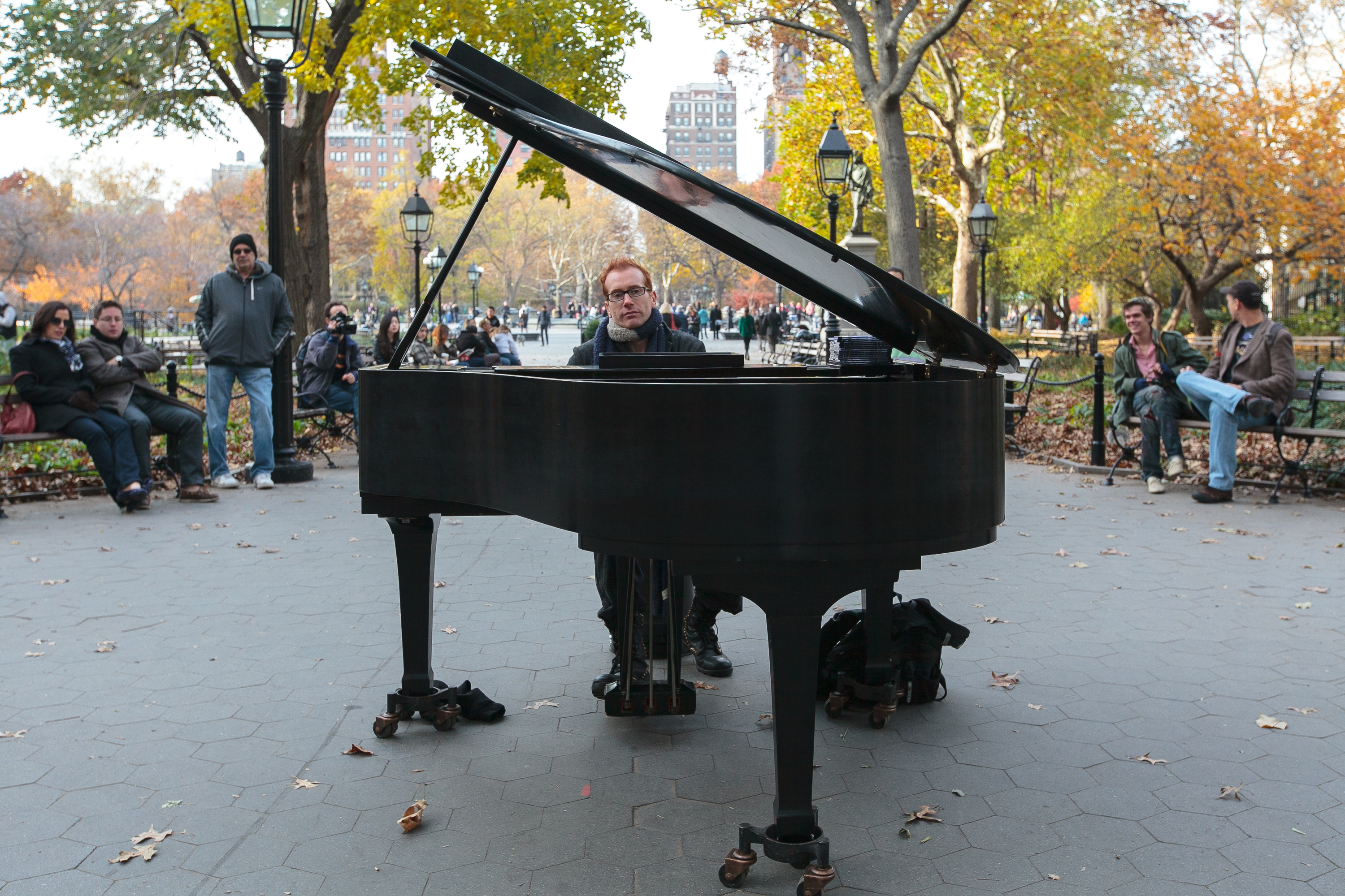 colin huggins piano guy washington square park