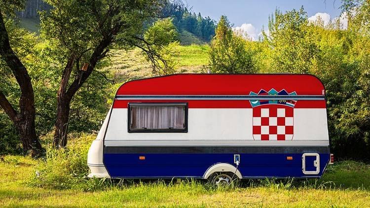 Croatia, caravan