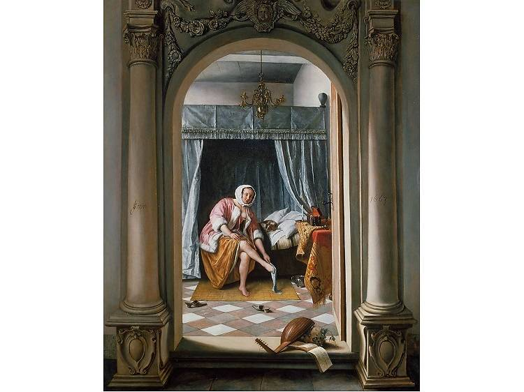 Woman at Her Toilet, Jan Steen (1663)