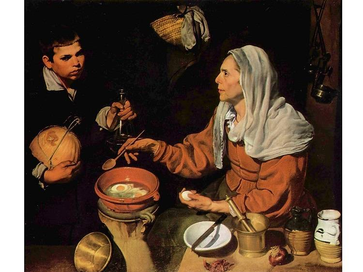 Old Woman Frying Eggs, Diego Velázquez (1618)