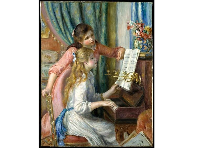 Two Young Girls at the Piano, Pierre-Auguste Renoir (1892)