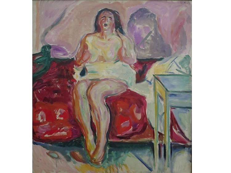 Morning Yawn, Edvard Munch (1913)