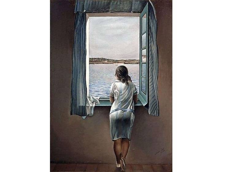 Young Woman at a Window, Salvador Dalí (1925)