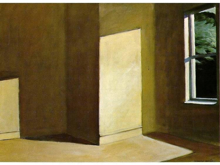 Sun in an Empty Room, Edward Hopper (1963)