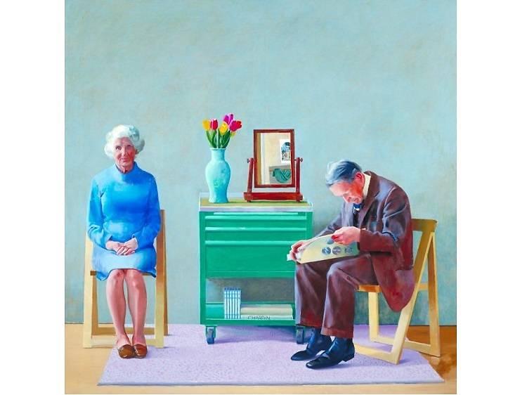 My Parents, David Hockney (1977)