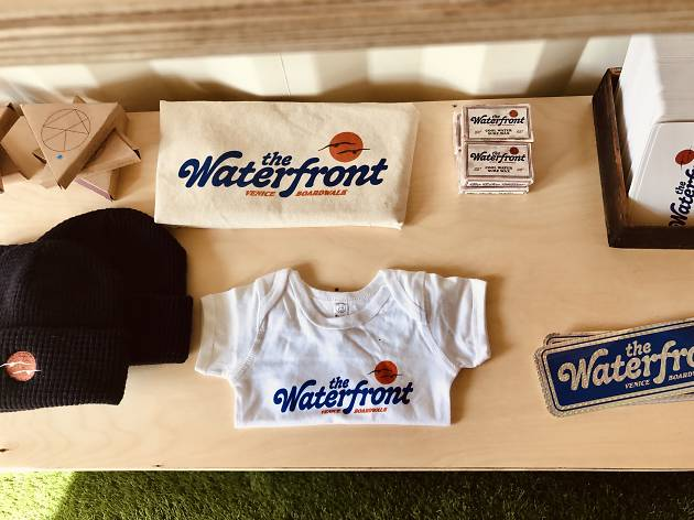 Waterfront Venice Boardwalk merch the shed