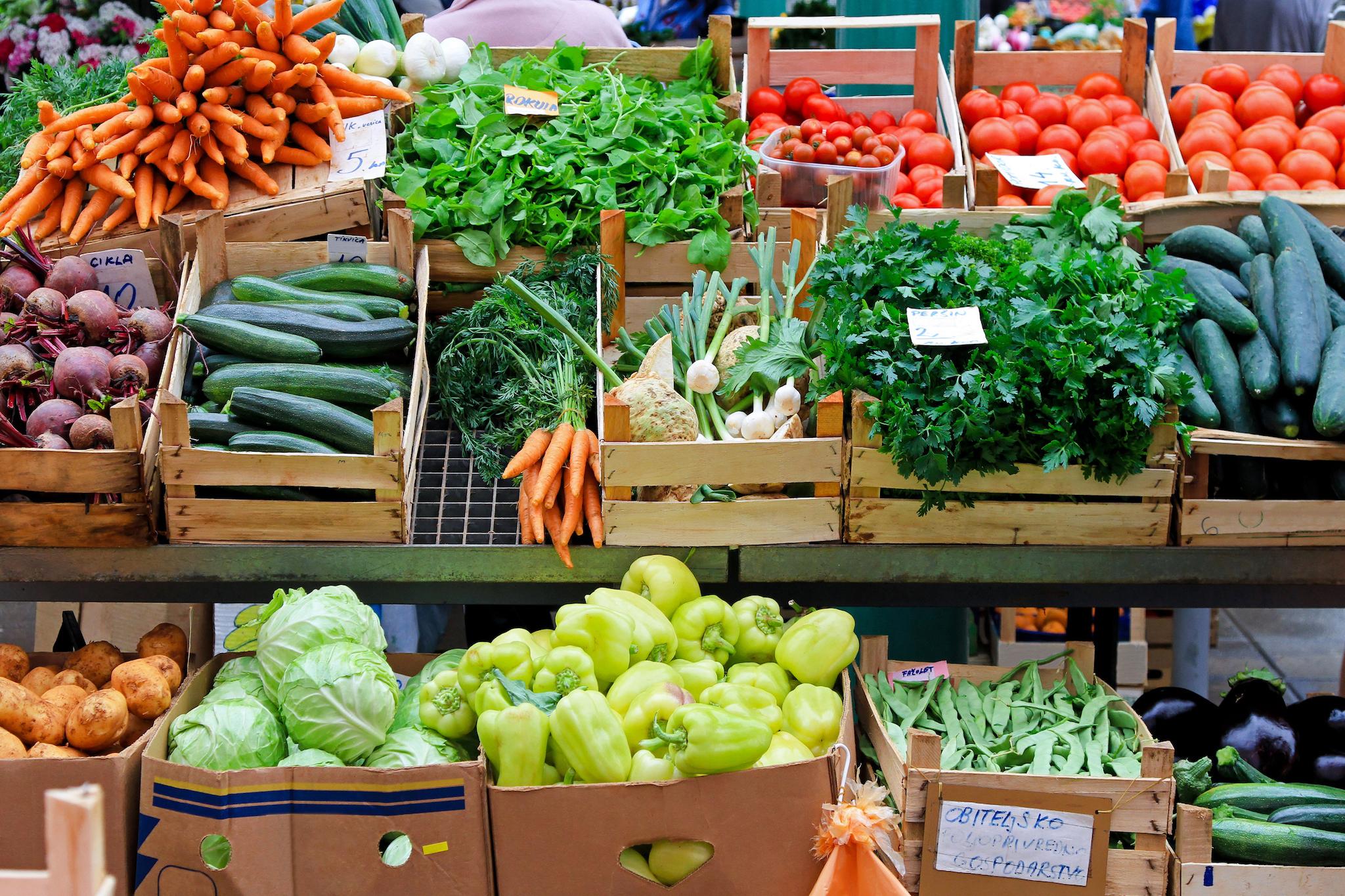 Produce - farmers' market