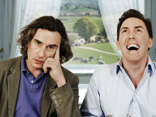 Steve Coogan and Rob Brydon front-on