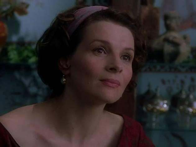 Juliette Binoche's face