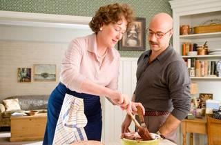 Julia mixing cake batter