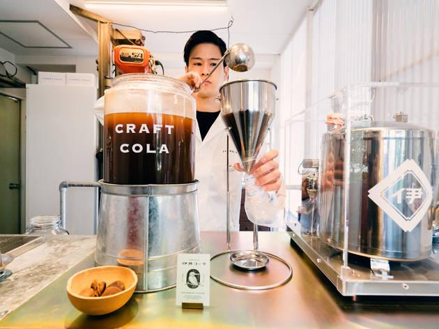世界初のクラフトコーラ専門店がオープン