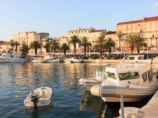 Split port