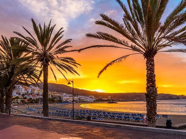 Playa Las Vistas en Tenerife