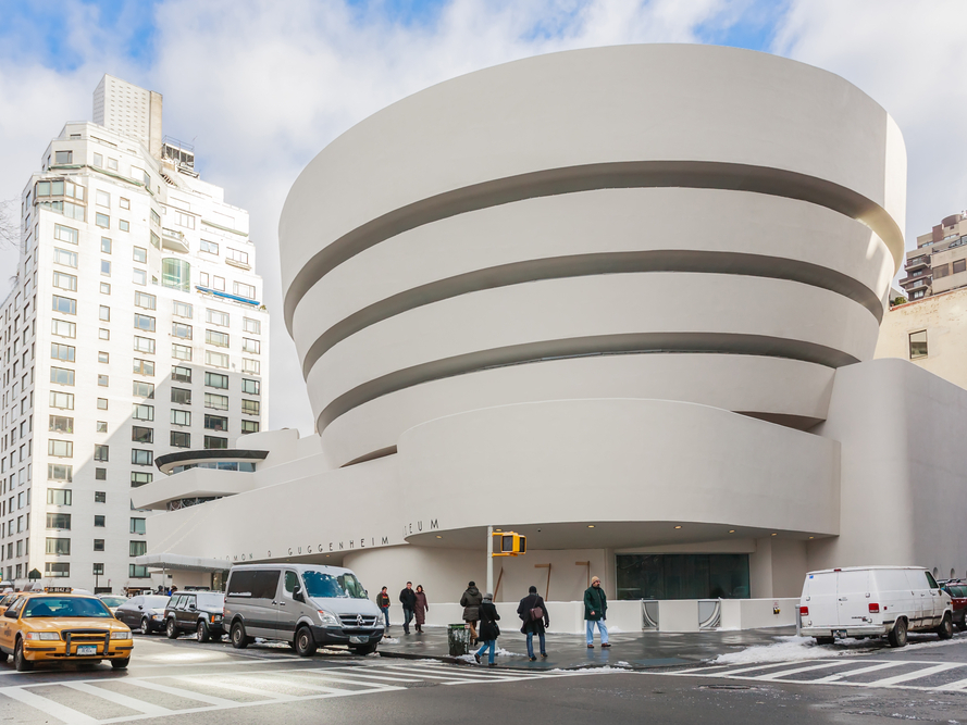 Solomon Guggenheim Museum, New York City, NYC