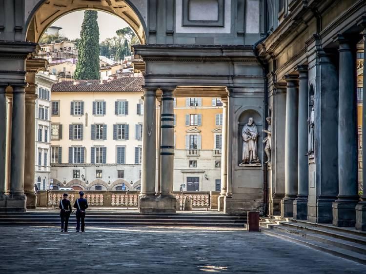 Galeria Uffizi, Florença