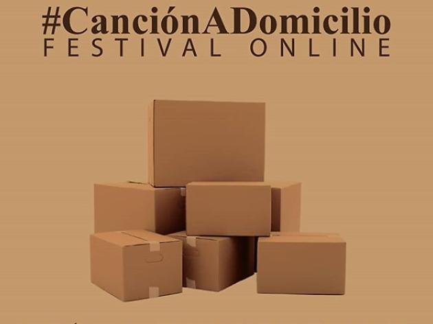 Canción a domicilio festival de música online