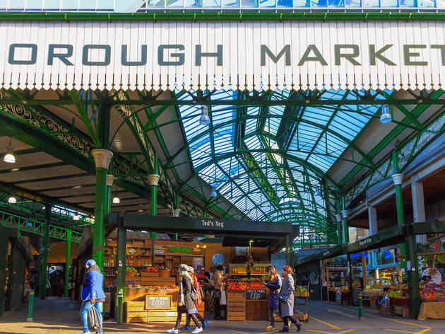 Borough Market extends online delivery area to anywhere inside M25