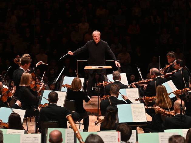 Russian Roots:The LSO conducted by Gianandrea Noseda (their Principal Guest Conductor) perform Balakirev art Casella: Islamey and Shostakovitch: Symphony No 1 in the Barbican Hall on Thursday 28 Mar. 2019.Photo by Mark Allan/BBC