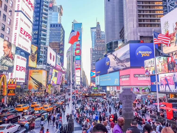 Time Square in New York, USA