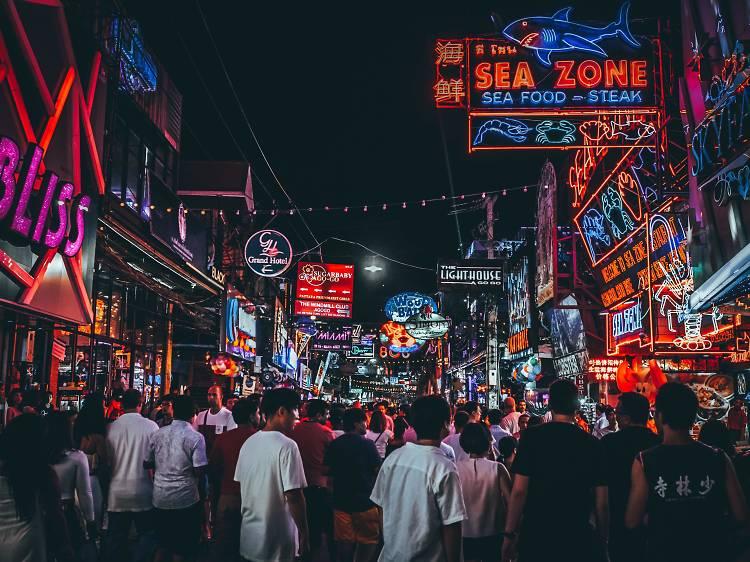 Pattaya city in Thailand