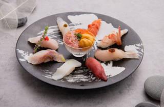 Gyotaku Central sushi set