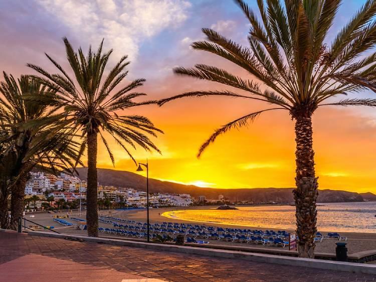 Las Vistas beach in Tenerife