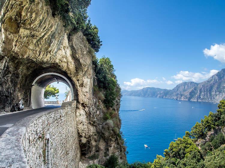 Costa Amalfitana em Itália