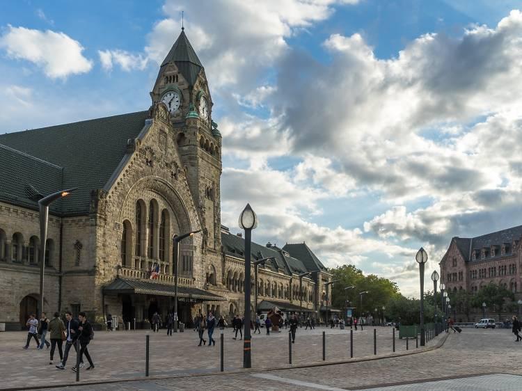 Gare de Metz-Ville, Metz
