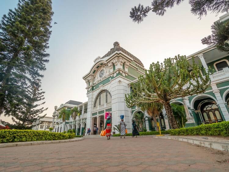 Central Railway Station, Maputo
